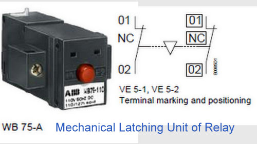 Mechanical Latching Unit of relay