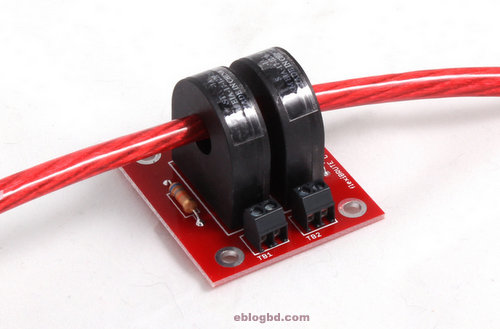 Typical current transformer in application