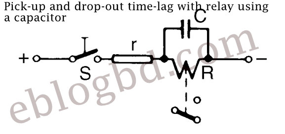 Pick-up and drop-out time-lag using.