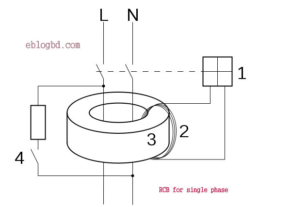 Wiring Diagram Of Earth Fault Relay : Rcb residual circuit breaker to detect earth fault how